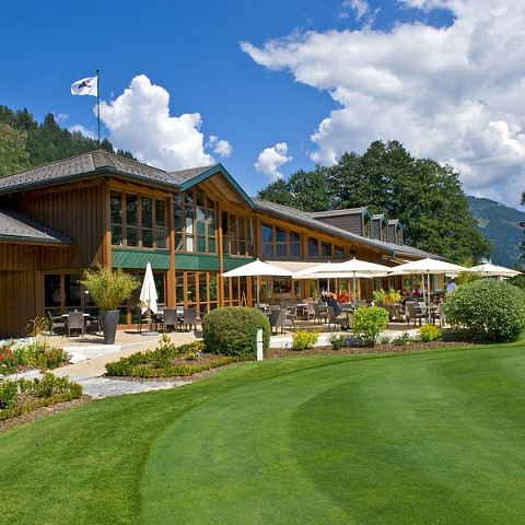 Golf club restaurant